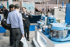 International Exhibition of Laboratory Equipment and Chemical Re Royalty Free Stock Photography