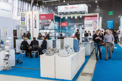 International Exhibition of Laboratory Equipment and Chemical Re Stock Images