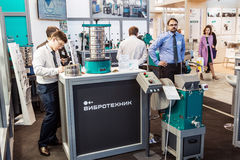 International Exhibition of Laboratory Equipment and Chemical Re Stock Image