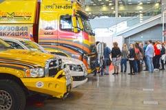 International Exhibition of Logistics Traffic Royalty Free Stock Photo