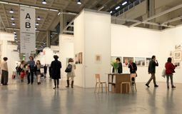 International exhibition of modern and contemporary art Stock Photography