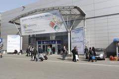 International exhibition MosBuild 2011 royalty free stock image