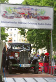 International Exhibition of old car Stock Photo