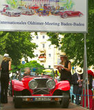 International Exhibition of old car Royalty Free Stock Photos
