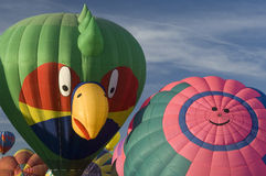 international för albuquerque ballongfestival Arkivfoton