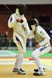 International fencing tournament St. Petersburg Foil 2015 Stock Photo