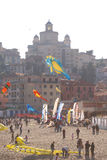 International Festival of the Kites 2010. Event: 11° edition of the International Festival of the Kites Royalty Free Stock Image
