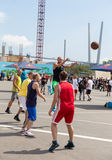 International Festival Sport around Pacific Open. Stock Photography