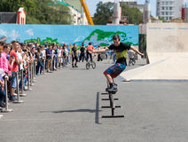 International Festival Sport around Pacific Open. Stock Photography