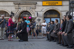 International Festival of Street Theatres ULICA in Cracow_Kamchatka, Spain Stock Photo