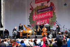 International Festival Usadba Jazz Stock Photo