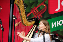 International Festival Usadba Jazz Stock Image