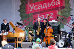 International Festival Usadba Jazz Royalty Free Stock Images