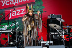 International Festival Usadba Jazz Royalty Free Stock Photos