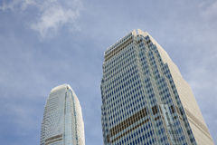 International Finance Centre in Hong Kong Stock Photography