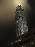 International Finance Centre Hongkong. At night Royalty Free Stock Photos