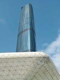 International financial center. Edifice in guangzhou china Royalty Free Stock Image