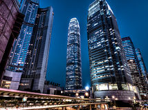 International Financial Centre Hong Kong Stock Image