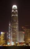 The International Financial Centre (IFC),Hong Kong. Night view of the International Financial Centre (IFC), Hong Kong Stock Images