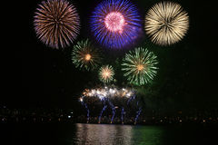International Fireworks Festival Stock Photography