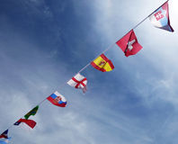 International Flags Stock Image