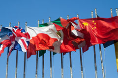 International Flags Royalty Free Stock Image