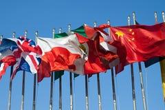 International Flags Royalty Free Stock Image