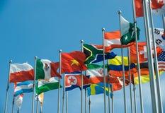 International flags Stock Image