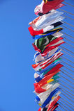 International flags Stock Photography