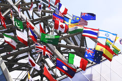 International Flags Royalty Free Stock Images
