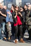International Flashmob Day of Rueda de Casino, Royalty Free Stock Photo