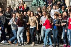 International Flashmob Day of Rueda de Casino, Stock Photography