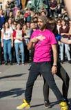 International Flashmob Day of Rueda de Casino, Royalty Free Stock Images