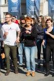 International Flashmob Day of Rueda de Casino Stock Images
