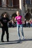 International Flashmob Day of Rueda de Casino Stock Photo