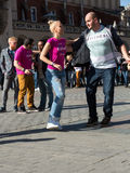 International Flashmob Day of Rueda de Casino Royalty Free Stock Photo