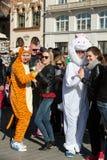 International Flashmob Day of Rueda de Casino Royalty Free Stock Images