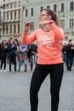 The international Flashmob day of rueda de Casino Royalty Free Stock Image