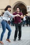 The international Flashmob day of rueda de Casino Royalty Free Stock Photos