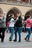 The international Flashmob day of rueda de Casino Royalty Free Stock Photography