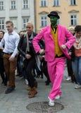 The international Flashmob day of rueda de Casino Stock Photos