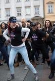 The international Flashmob day of rueda de Casino Stock Photography