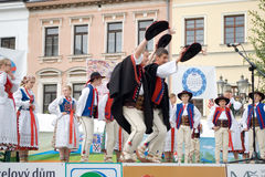 International folklore festival CIOFF Royalty Free Stock Images
