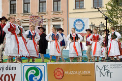 International folklore festival CIOFF Stock Images