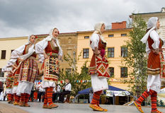International folklore festival CIOFF 2014 Stock Image