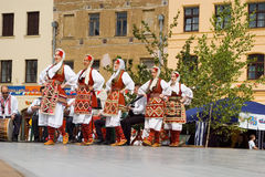 International folklore festival CIOFF 2014 Royalty Free Stock Image