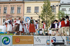 International folklore festival CIOFF 2014 Stock Images