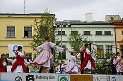 International folklore festival CIOFF Stock Image