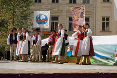 International folklore festival CIOFF Royalty Free Stock Image