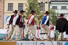 International folklore festival CIOFF Royalty Free Stock Photos